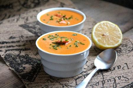 سوپ سالمون