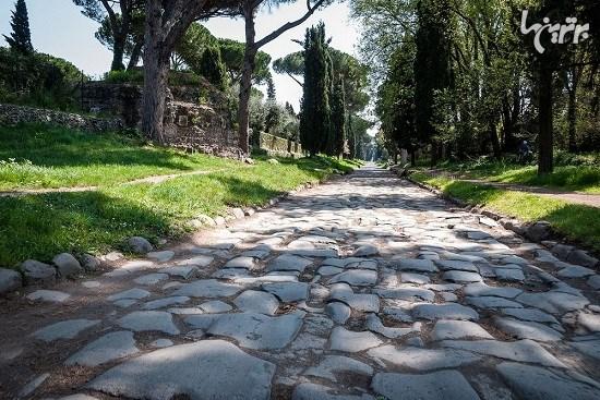 جاده آپیان؛ اولین جاده رومی