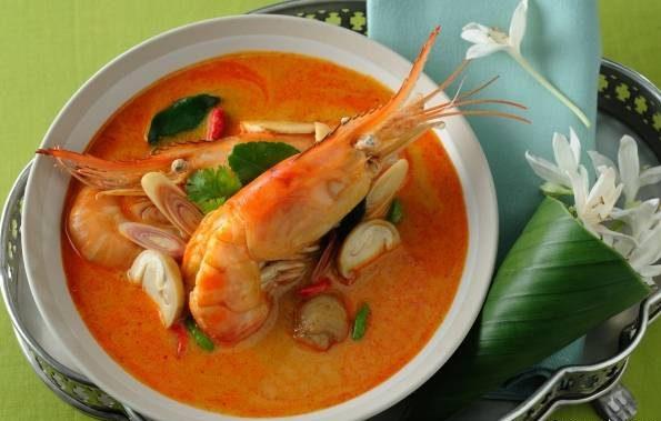 سوپ تایلندی تام یام