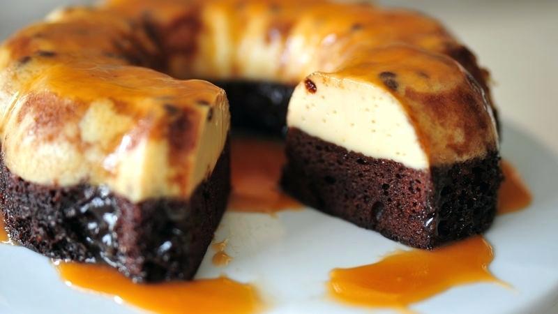 فلن کیک (کیک کارامل)
