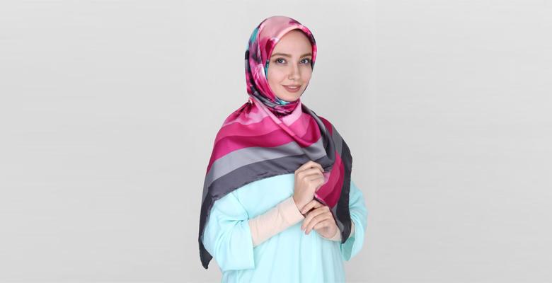آشنایی با سایزهای شال و روسری و کاربرد آنها