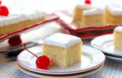 کیک سه شیر، یک کیک ساده و خوشمزه مکزیکی