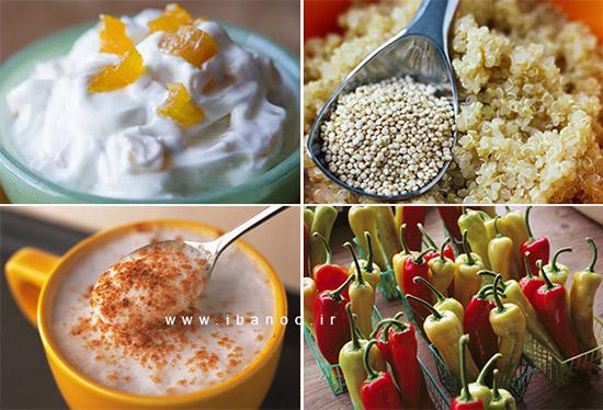غذاهایی برای نبرد با چربیها