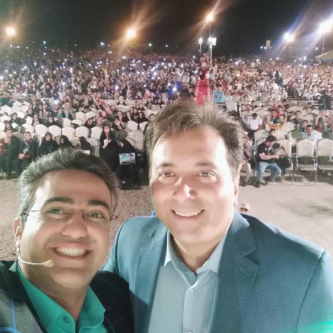 یک شب خاطرهانگیز در نجفآباد با حضور مجید اخشابی