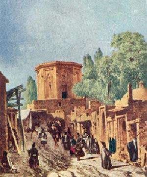 گشت و گذاری در تهران قدیم