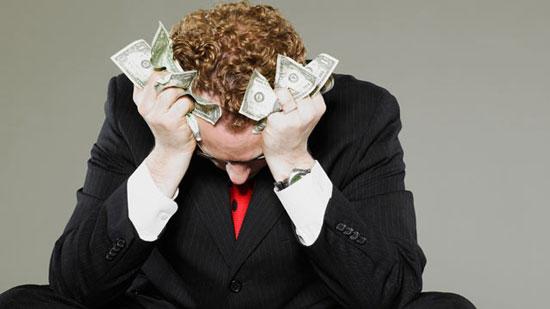 10 راه برای برخورد با استرس مالی