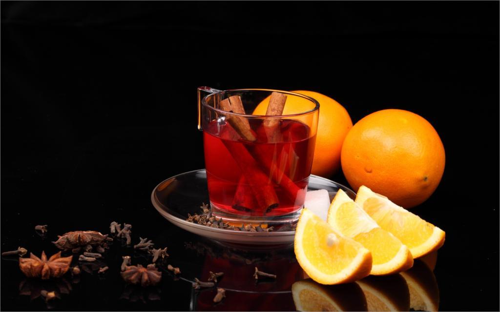 چای پرتقال و دارچین
