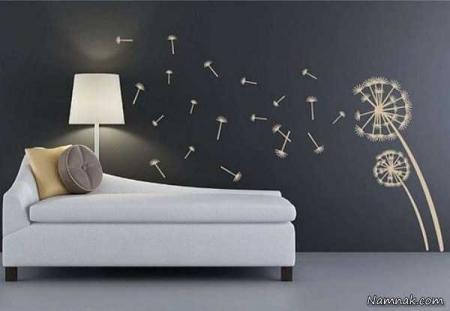 ایده هایی فوق العاده برای تزیین دیوار خانه تان