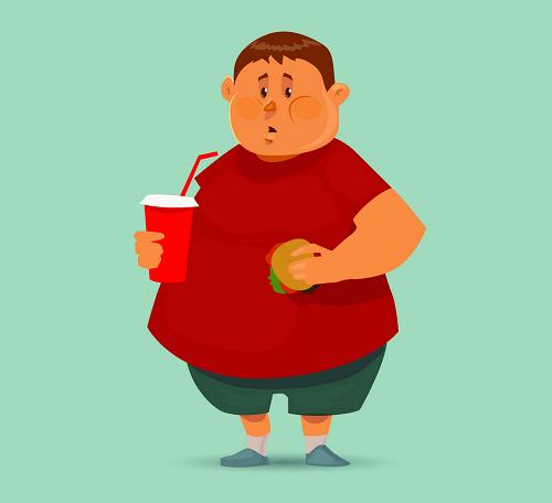 چاقی و اضافه وزن با تمام ضررهایش