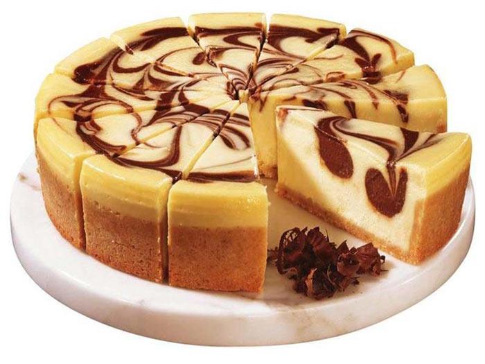 زبرا چیز کیک