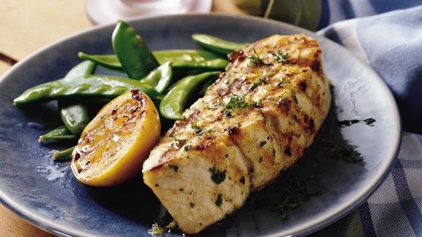 استیک ماهی لیمویی