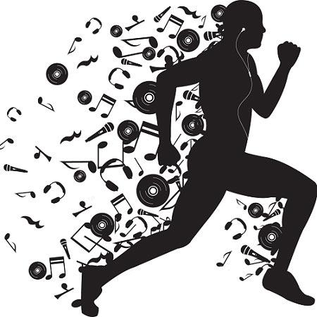 افزایش کارایی ورزشکاران با موسیقی