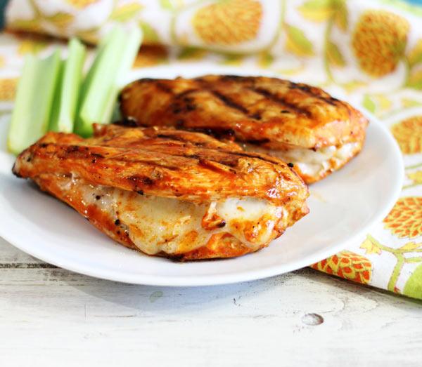 استیک مرغ پنیری