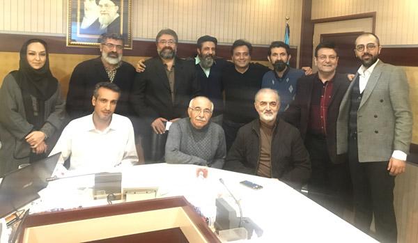 جلسه شوراي شعر و موسيقي با حضور دکتر مجید اخشابی