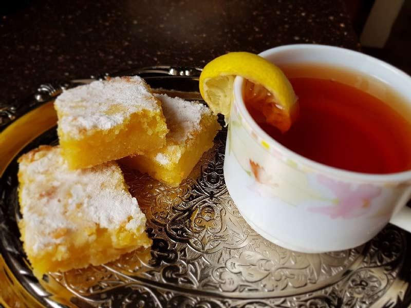شیرینی لیمویی