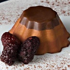 دسر ماقوت شکلاتی