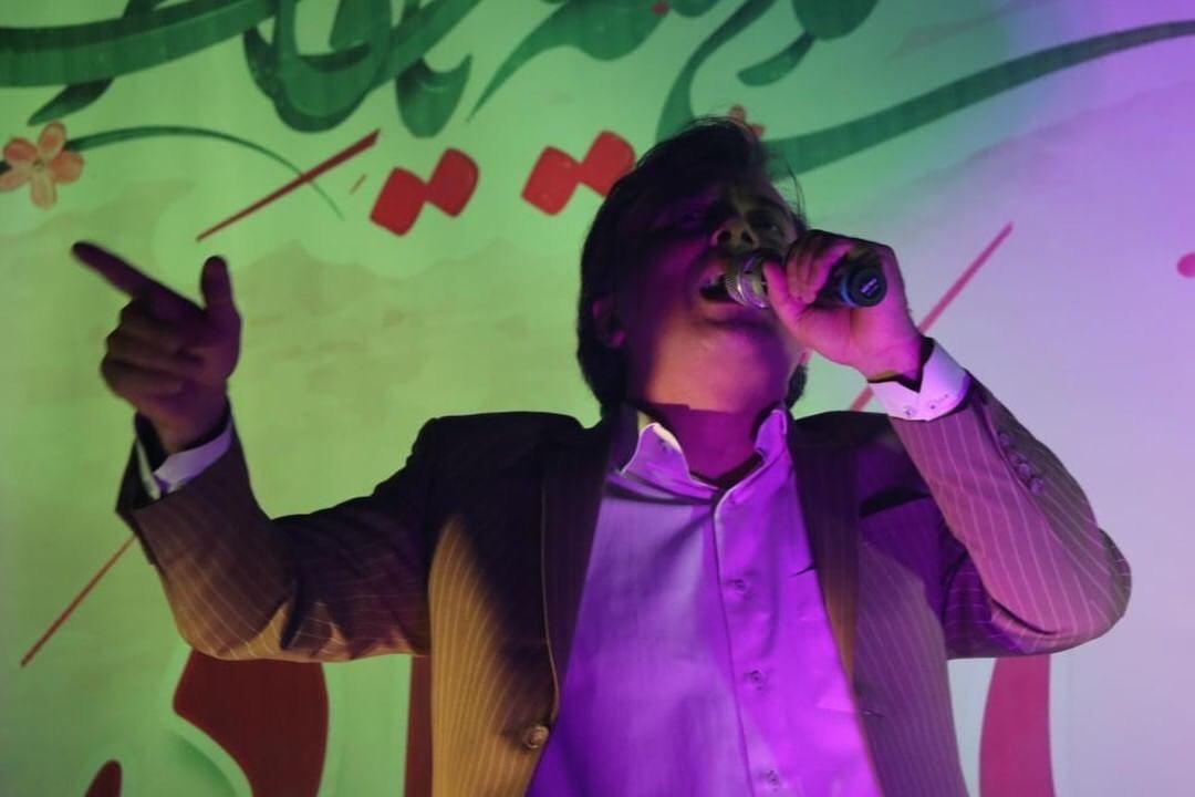 دکتر مجید اخشابی در  جمع مردم کاشان 9 اسفند 97
