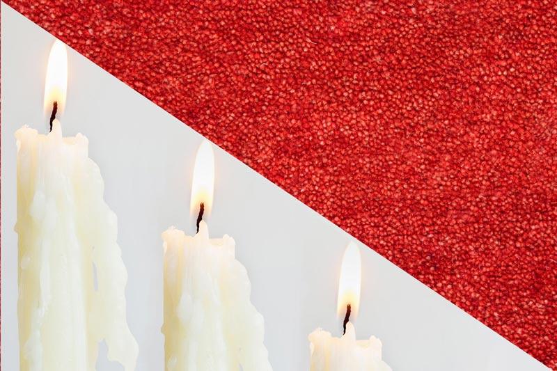 پاک کردن موم شمع از سطوح مختلف
