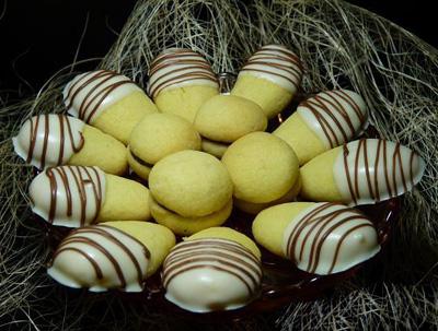شیرینی انگشتی بادامی برای عید نوروز