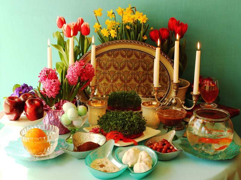 آموزش سفره هفت سین عید نوروز