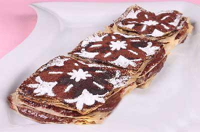 شیرینی ناپلئونی شکلاتی