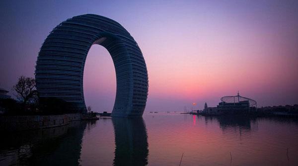 هتل حلقوی شرایتون در چین