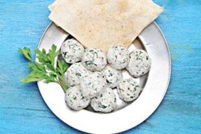 توپک های پنیری برای سفره افطار