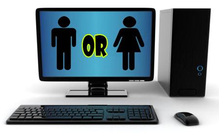 کامپیوتر شما خانم است یا آقا؟!