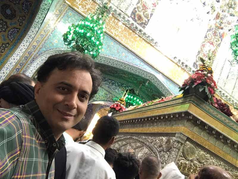 دکتر مجید اخشابی در هفدهمین جشنواره بين المللي امام رضا