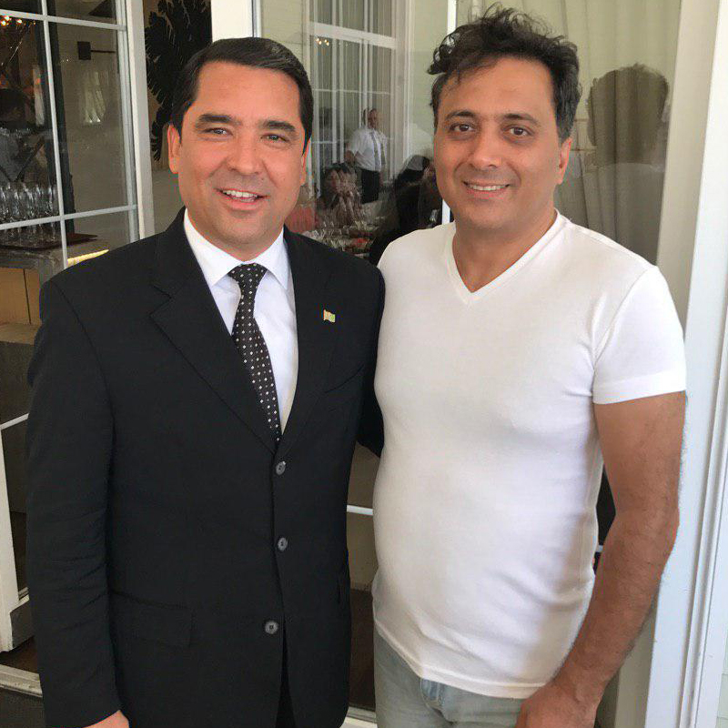 سفرنامه ترکمنستان دکتر مجید اخشابی