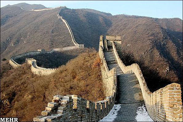 کشف بخش جدیدی از دیوار چین