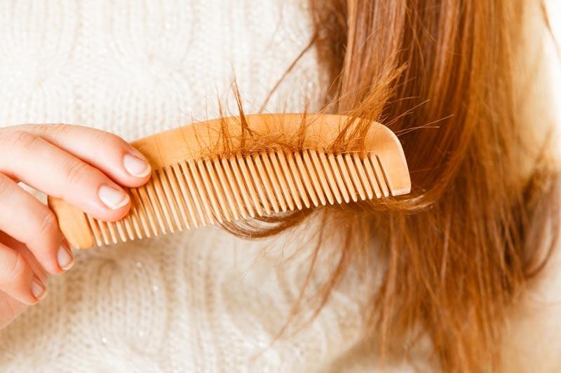 درمان شکنندگی موها