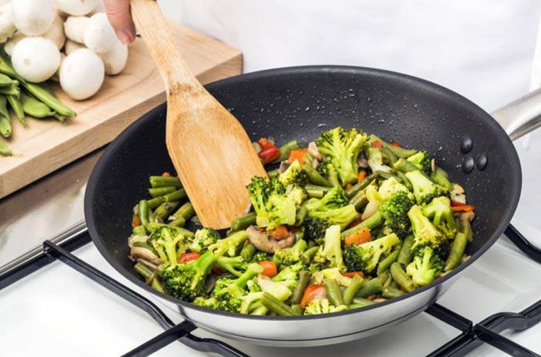 مواد غذایی که پخته آنها سالم تر است