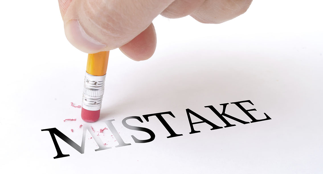 10 اشتباهی که هر روز مرتکب می شوید