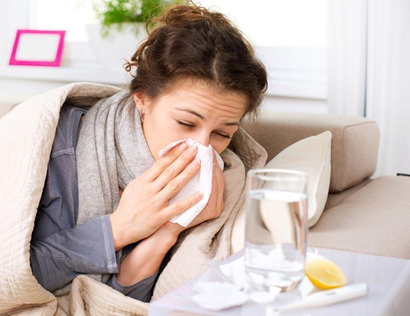درمان سرماخوردگي در يك روز