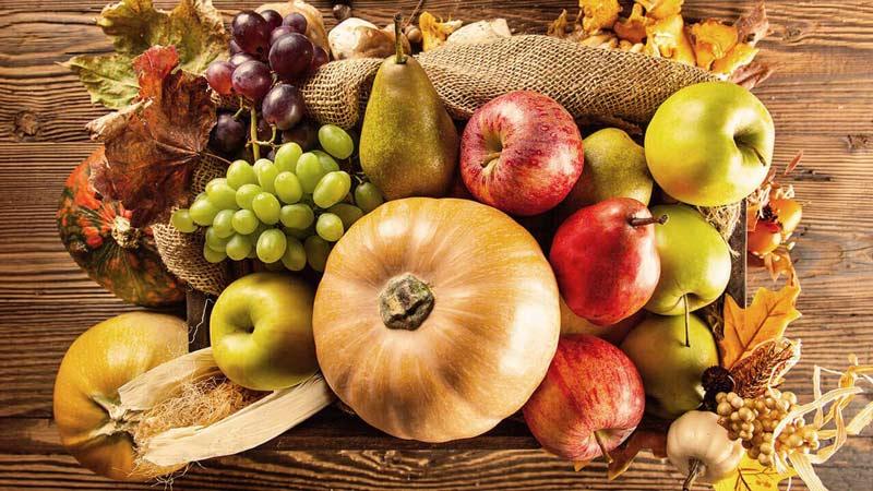 ویژگی خوراکی های پاییزی
