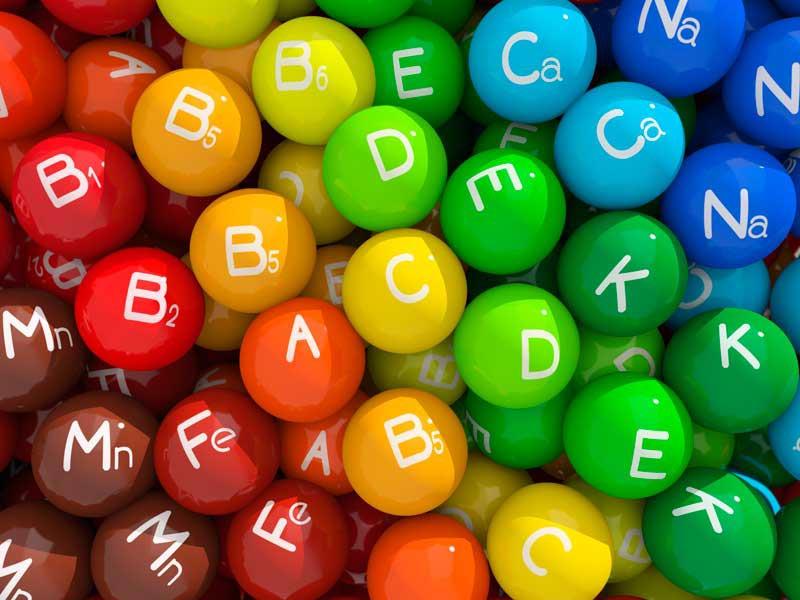 ویتامین های سرحالی و ضد کوری
