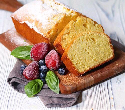 پاند کیک وانیلی