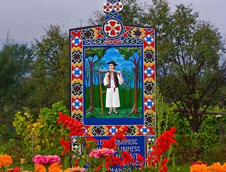 قبرستان آبی در رومانی