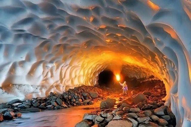 غار نمکدان قشم، طولانی ترین غار نمکی جهان