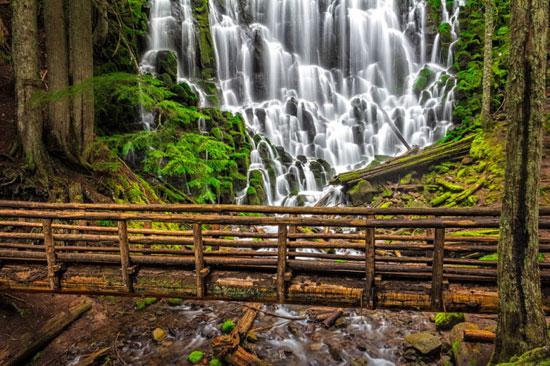 رامونا آبشار زیبایی در دل جنگل
