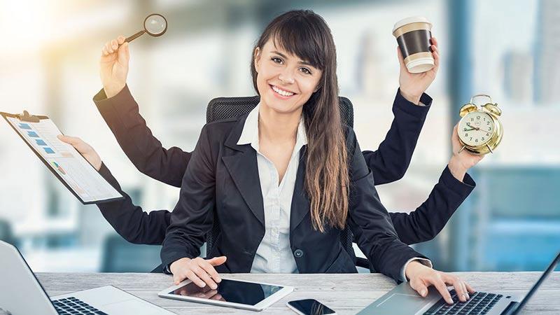 توانایی زنان در انجام همزمان چند کار