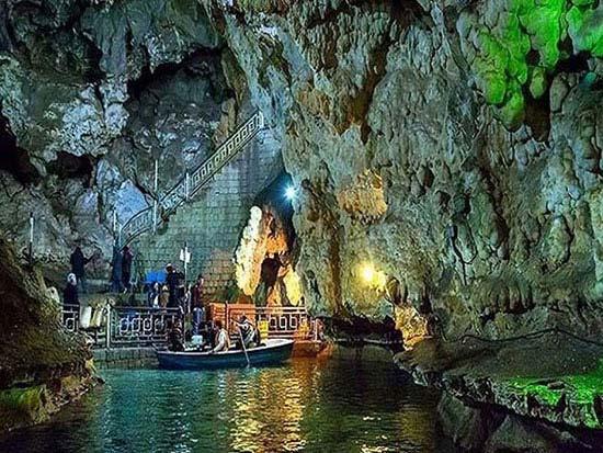 غارهای هیجان انگیز ایران