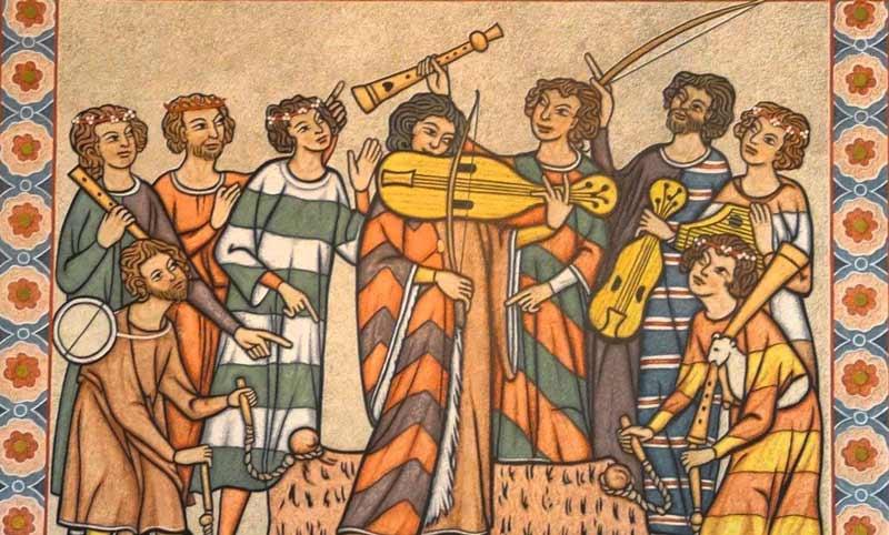 موسیقی اروپا در قرون اولیه و وسطی