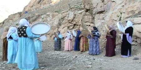 مراسم مرزه وان در کردستان