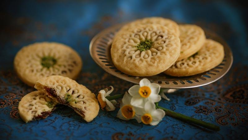 کلمپه شیرینی سنتی کرمانی ها