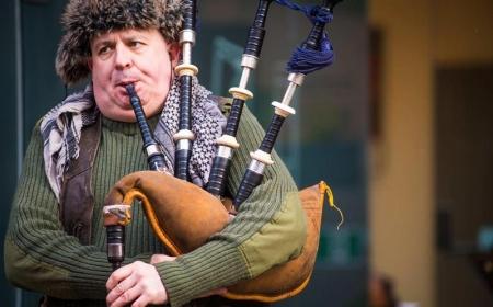 ساز اسکاتلندی بگ پایپ