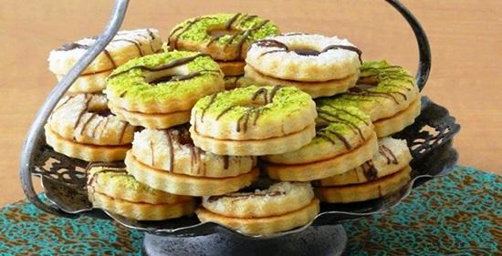 شیرینی خشک آلمانی یا شیرینی مشهدی