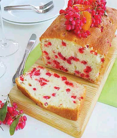 کیک زرشک
