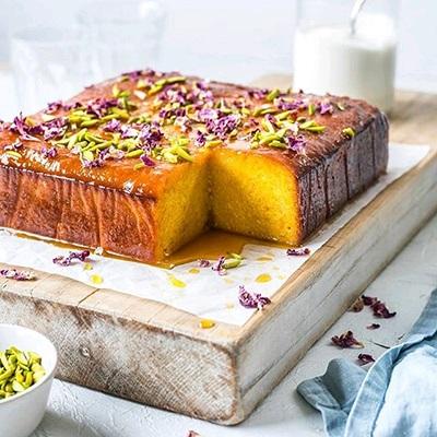 کیک شربتی یا کیک باقلوا